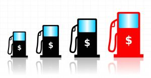 Gas price increase